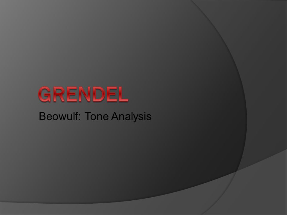 theme analysis of beowulf Other ancient civilizations - beowulf (epic poem, anonymous,  analysis: back to top of page  the main theme of the poem is.