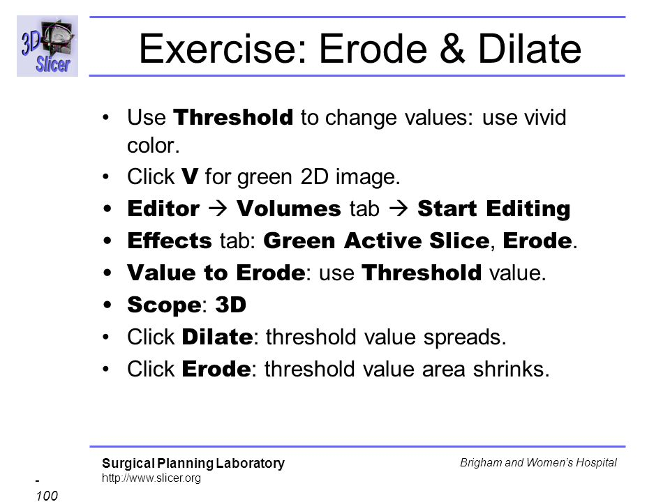 Exercise: Erode & Dilate