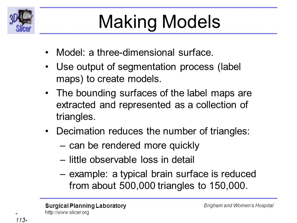 Making Models Model: a three-dimensional surface.