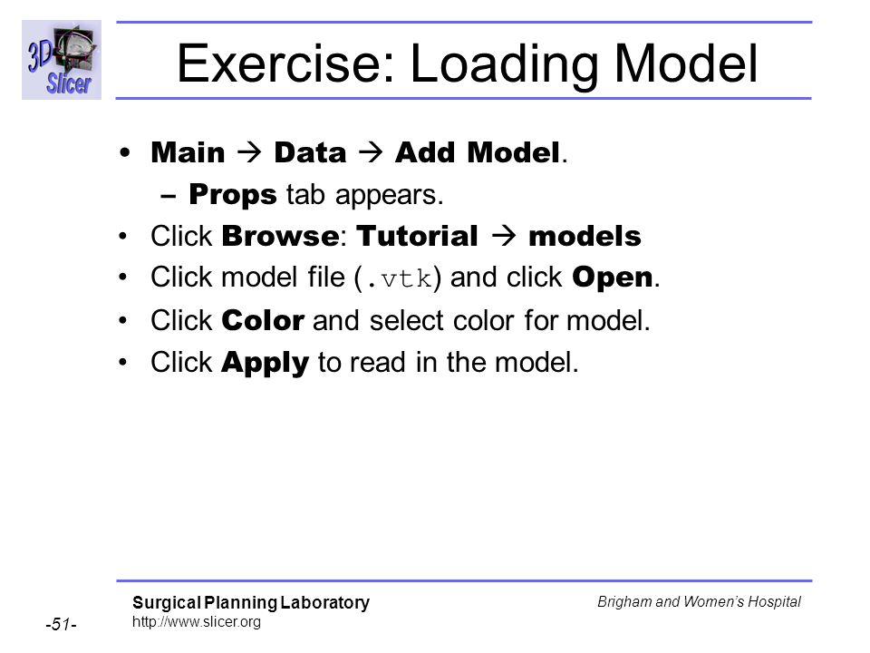 Exercise: Loading Model