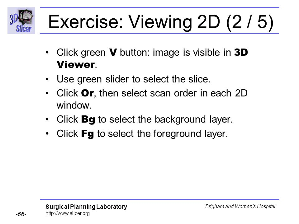 Exercise: Viewing 2D (2 / 5)