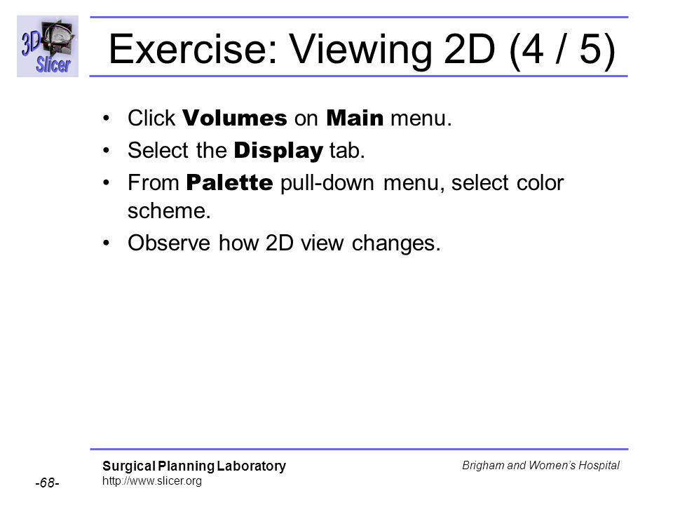 Exercise: Viewing 2D (4 / 5)