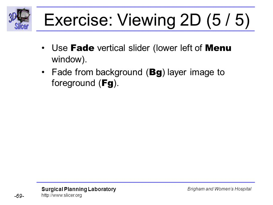 Exercise: Viewing 2D (5 / 5)