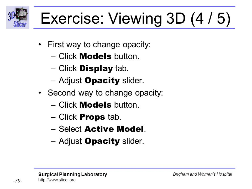 Exercise: Viewing 3D (4 / 5)