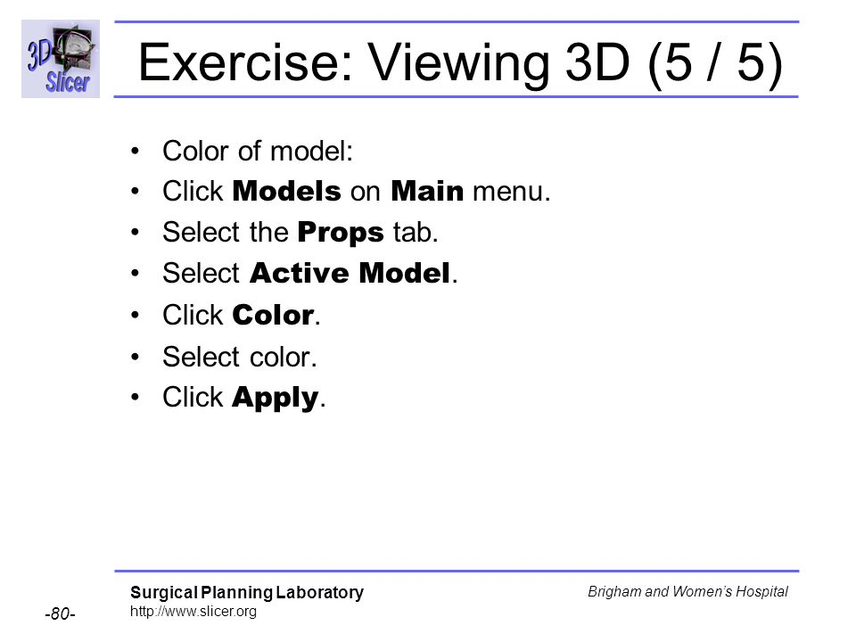 Exercise: Viewing 3D (5 / 5)