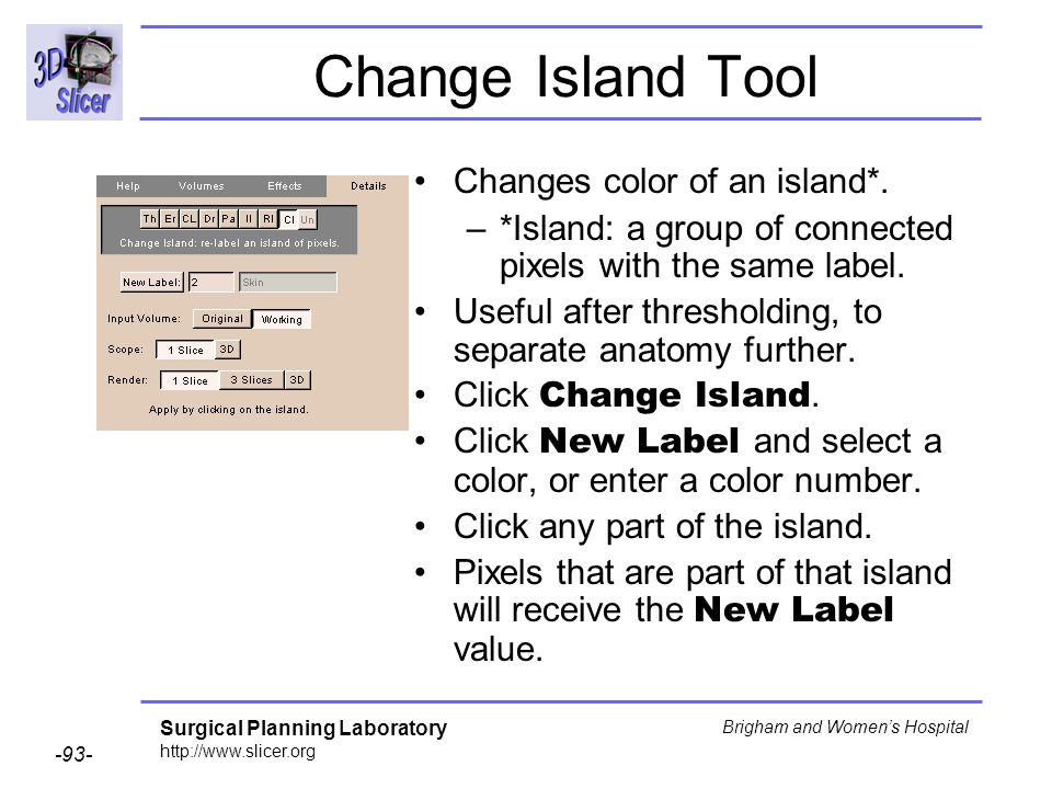 Change Island Tool Changes color of an island*.