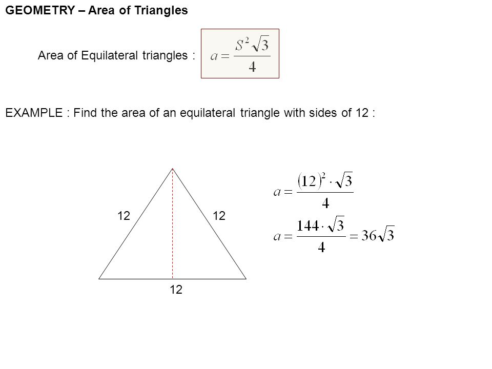 how to find the sides of an isosceles triangle