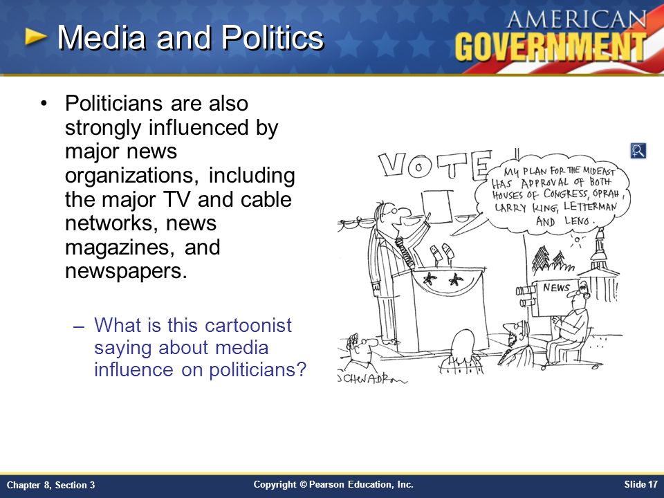 Politics and the influence of media on americas opinion on politics