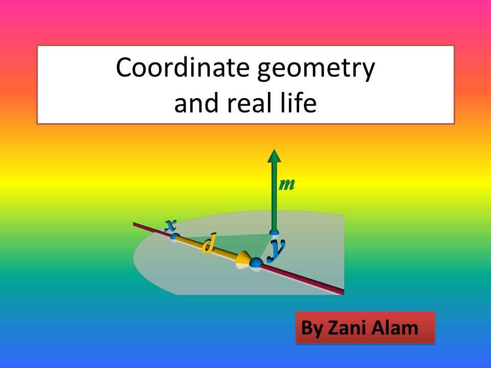 Coordinate geometry and real life ppt video online download ccuart Gallery