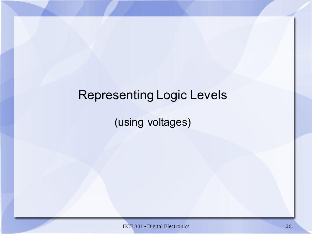 Representing Logic Levels
