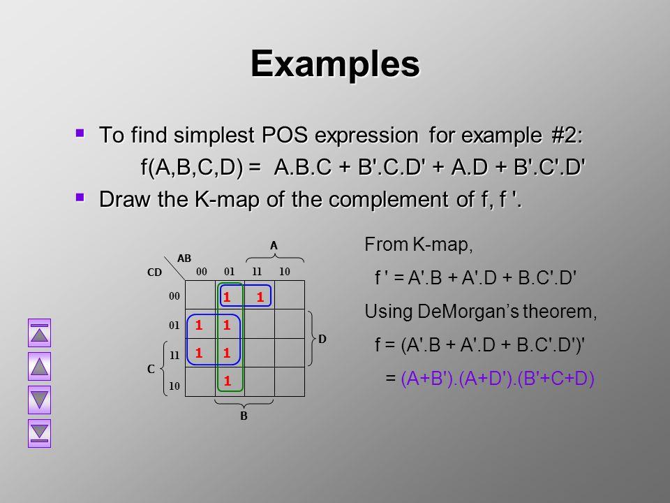 CT455: Computer Organization K-Map - ppt video online download