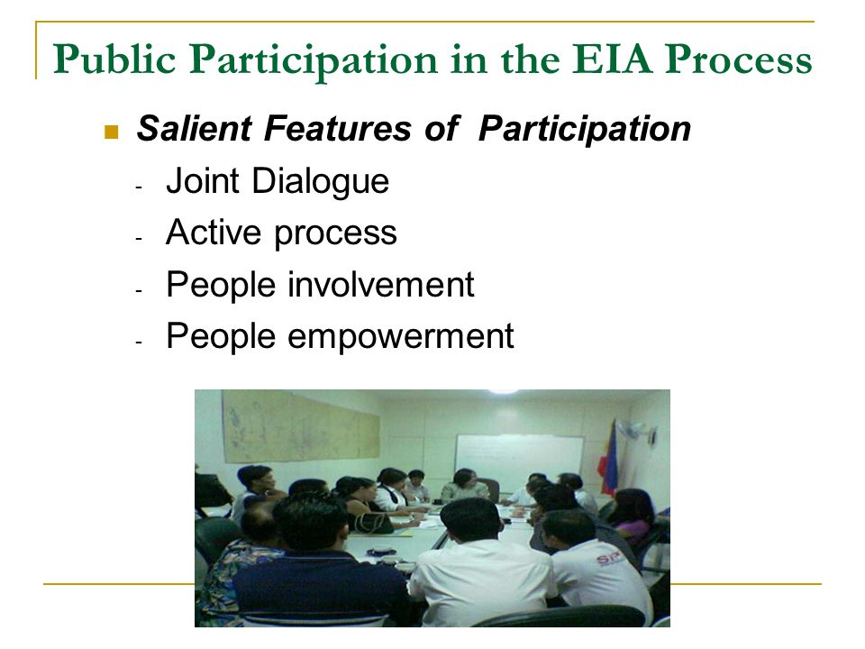the philippine environmental impact statement system Environmental management system plan prepared by  for each aspect that is determined to have a significant impact environmental management programs.