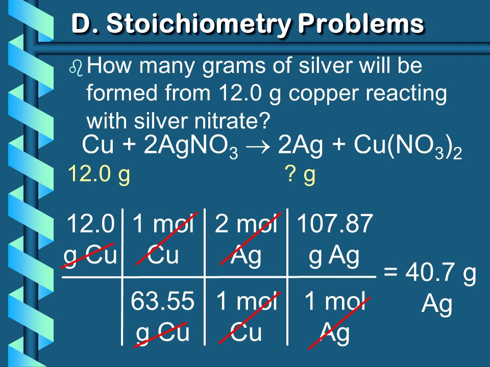 D. Stoichiometry Problems