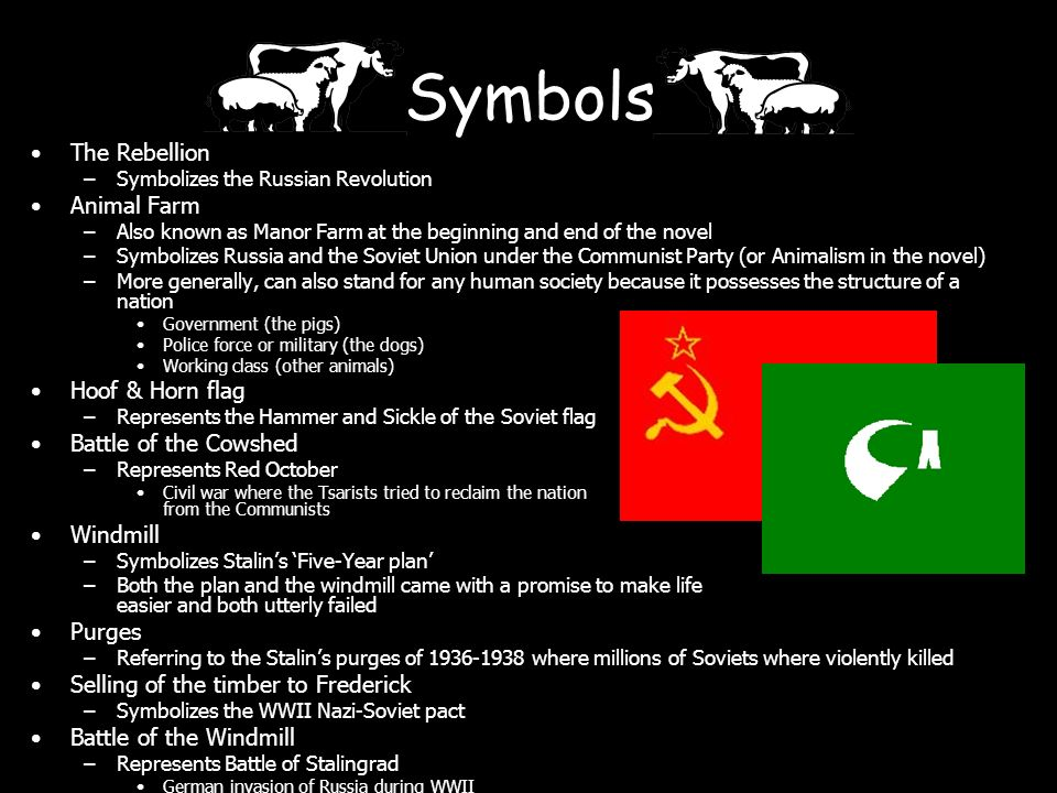 the symbolism of the russian revolution in the movie animal farm Everything you ever wanted to know about mollie (a horse) in animal farm, written by masters of this stuff just for you.