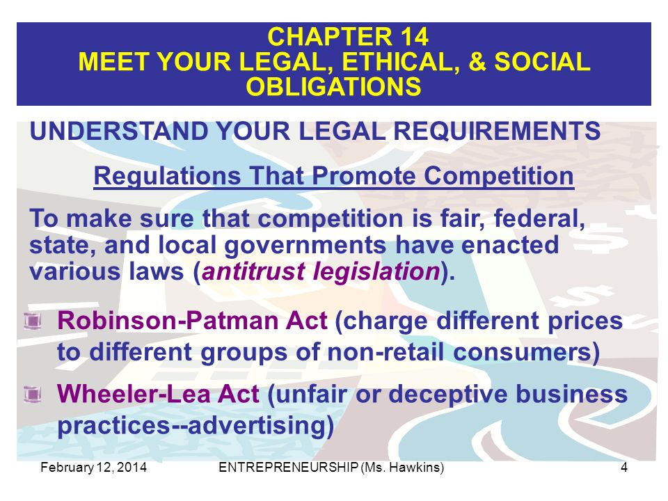 Regulations That Promote Competition