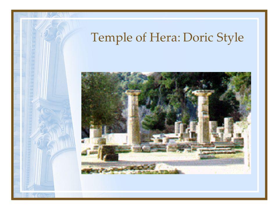 Temple of Hera: Doric Style
