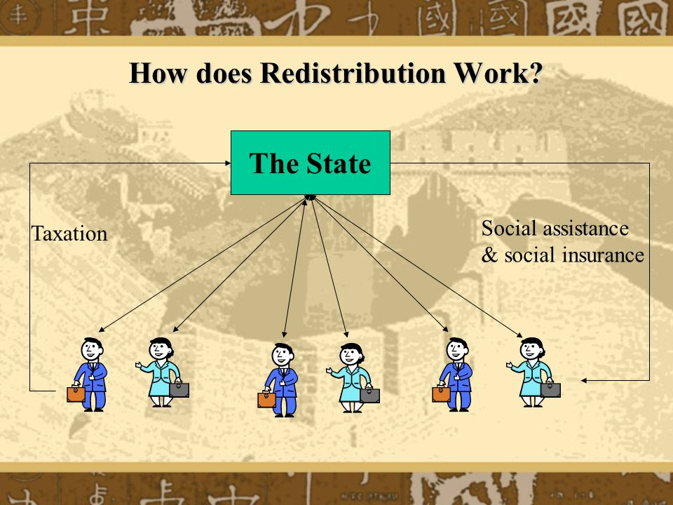 How does Redistribution Work