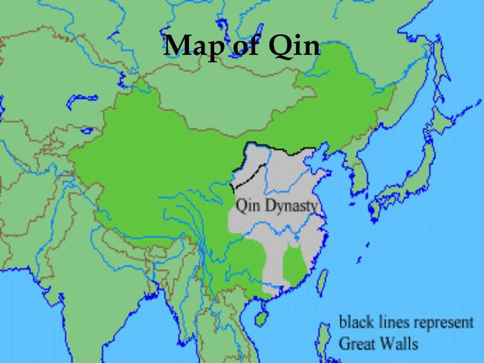 Map of Qin