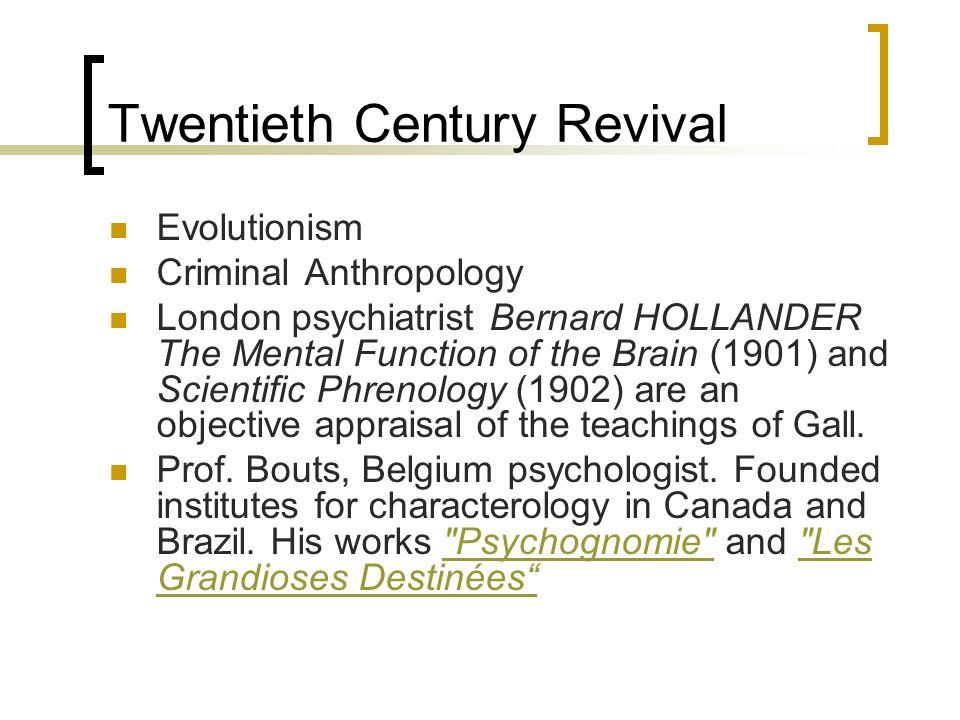 Twentieth Century Revival