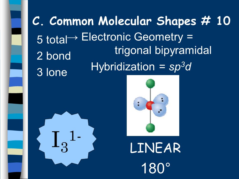 C. Common Molecular Shapes # 10