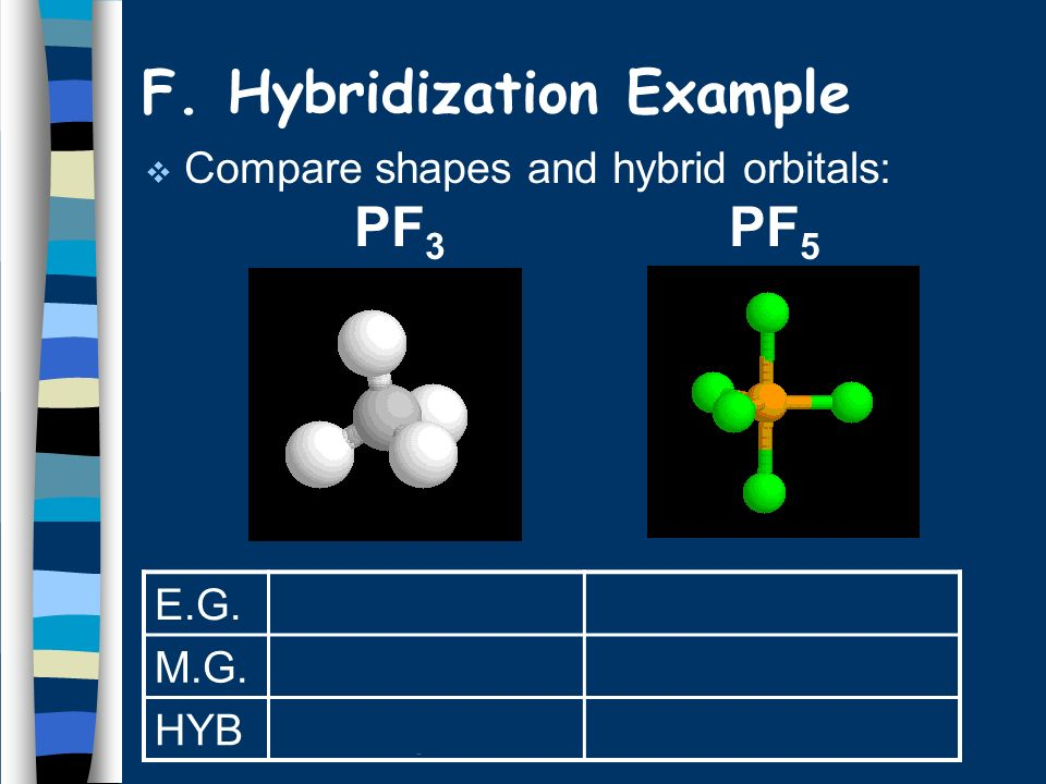 F. Hybridization Example
