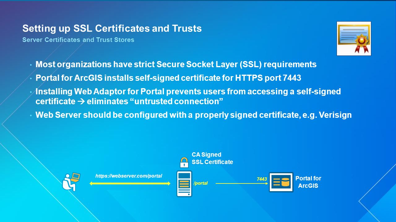 Portal for arcgis administration ppt video online download setting up ssl certificates and trusts 1betcityfo Gallery