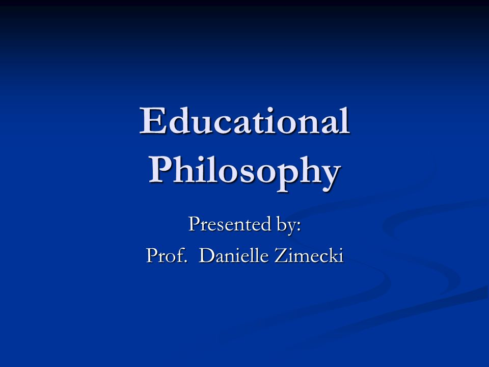 philosophy on educational technology Delineates who you are as a mathematics educator-- what is your philosophy of education,of is my philosophy of mathematics education technology.
