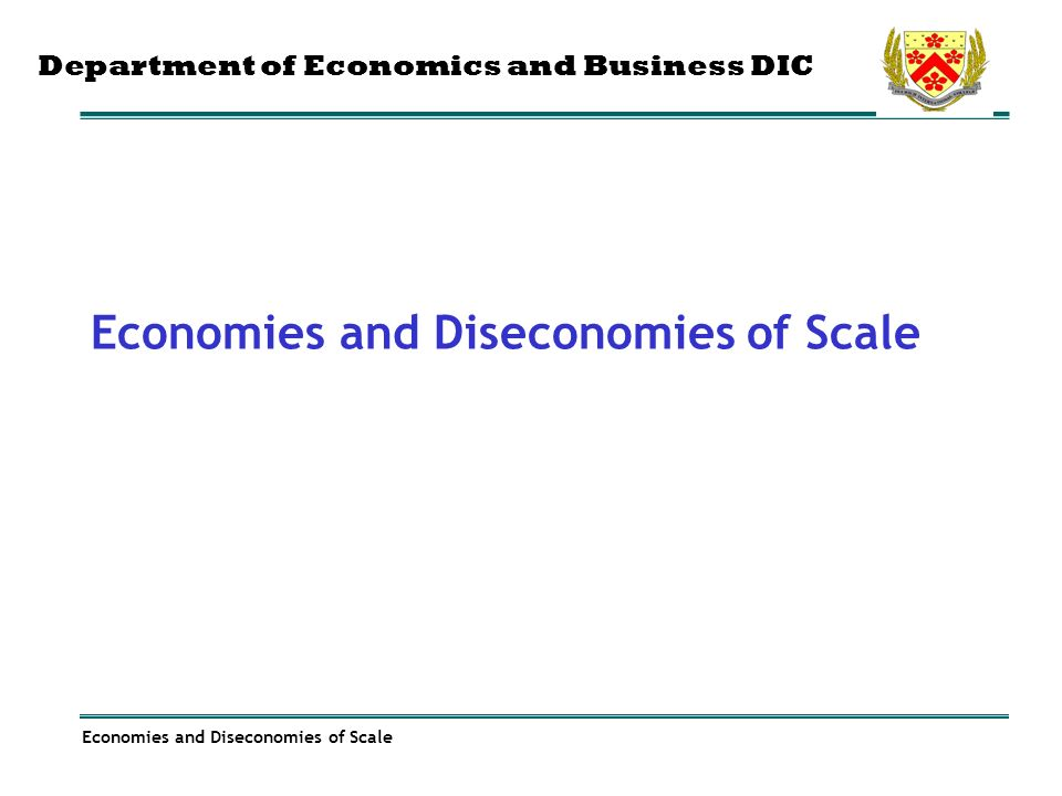household economies of scale case of Overall results support the existence of household economies of scale in economies of scale and gender discrimination in transition: the case of the republic.