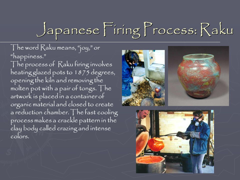 Japanese Firing Process: Raku