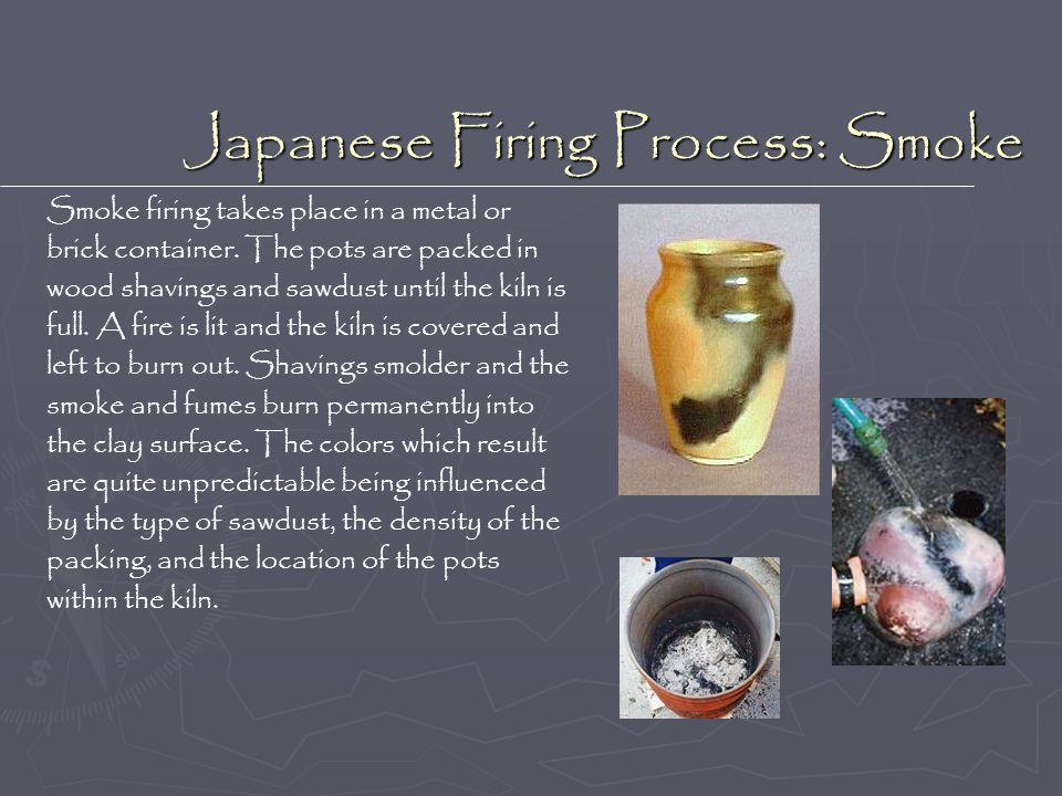 Japanese Firing Process: Smoke