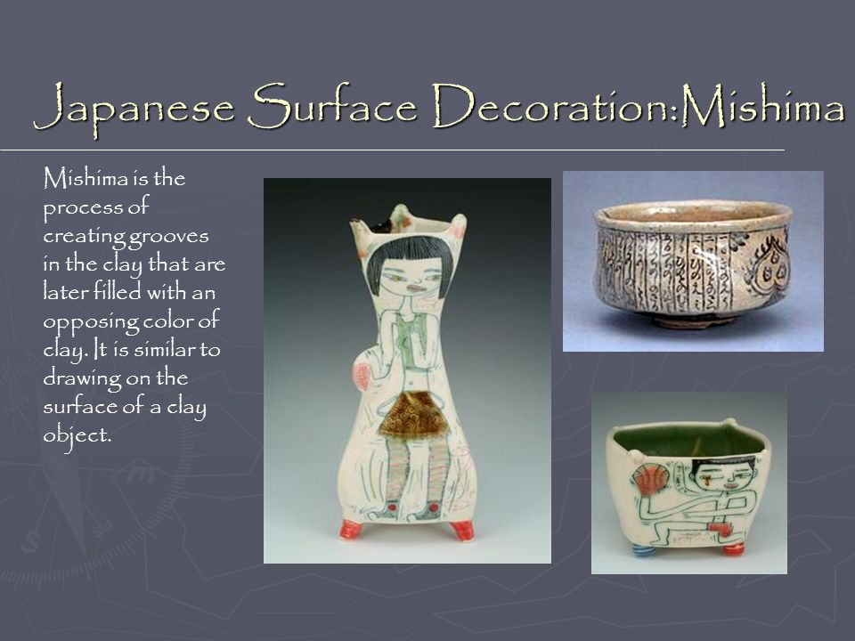 Japanese Surface Decoration:Mishima