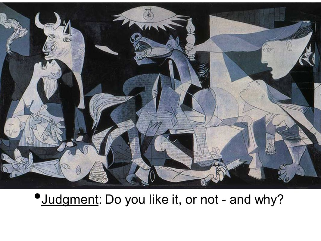 Judgment: Do you like it, or not - and why