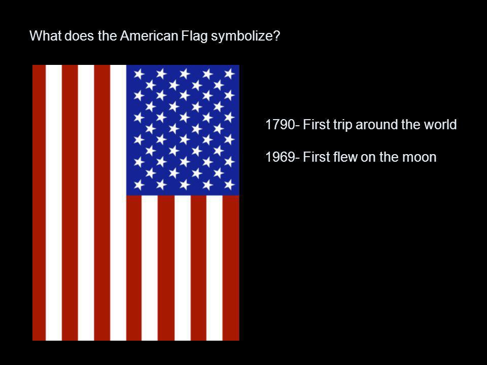 What does the American Flag symbolize