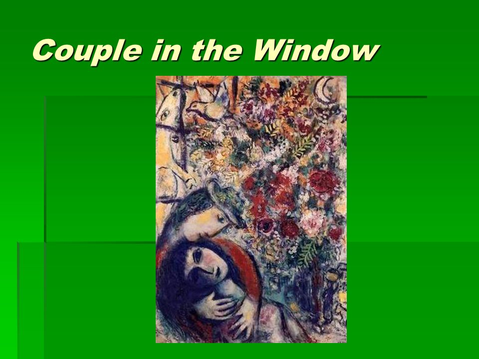 Couple in the Window