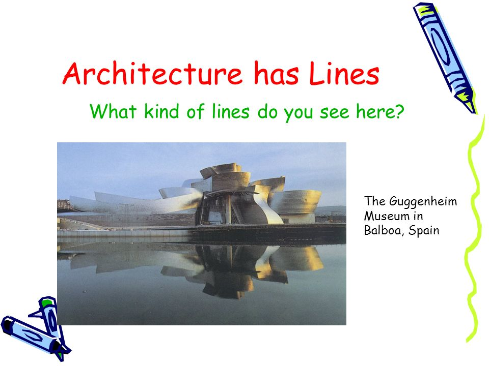 Architecture has Lines