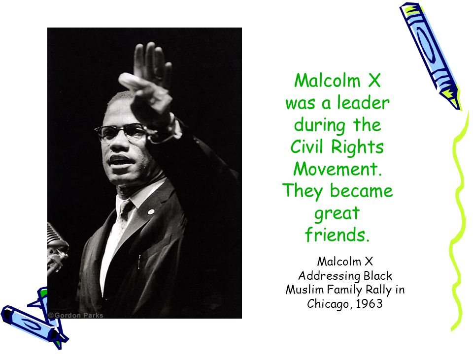 Malcolm X Addressing Black Muslim Family Rally in Chicago, 1963