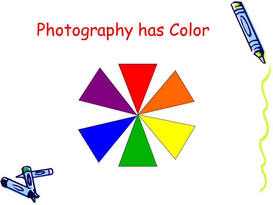 Photography has Color