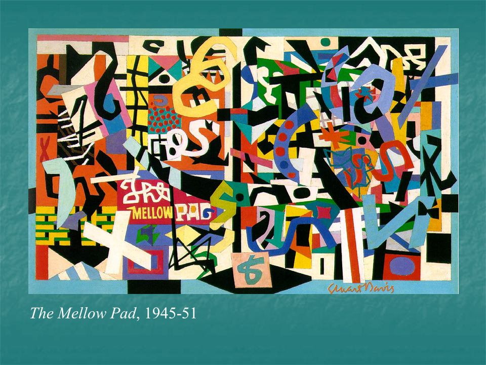 The Mellow Pad, 1945-51