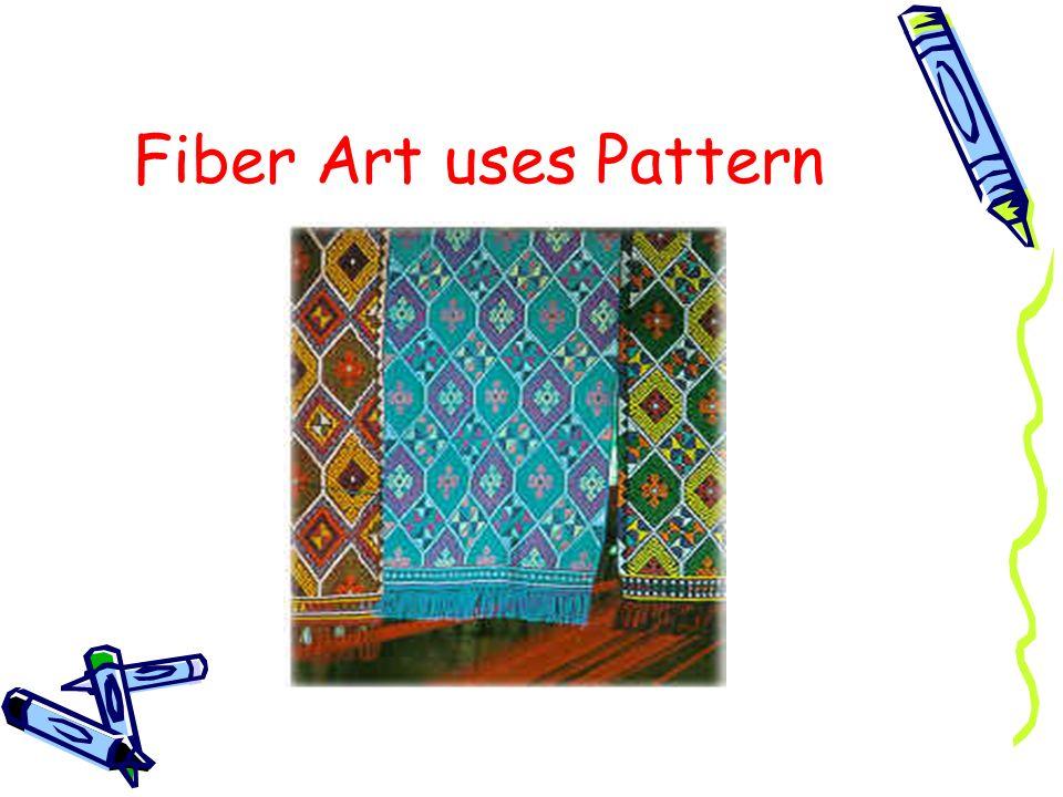 Fiber Art uses Pattern