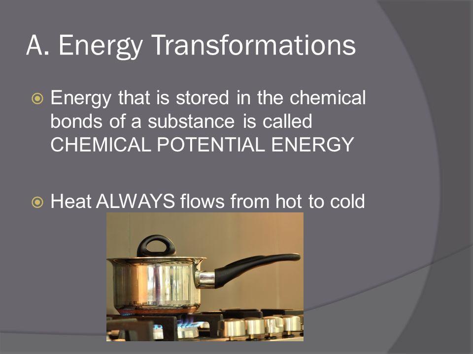 A. Energy Transformations