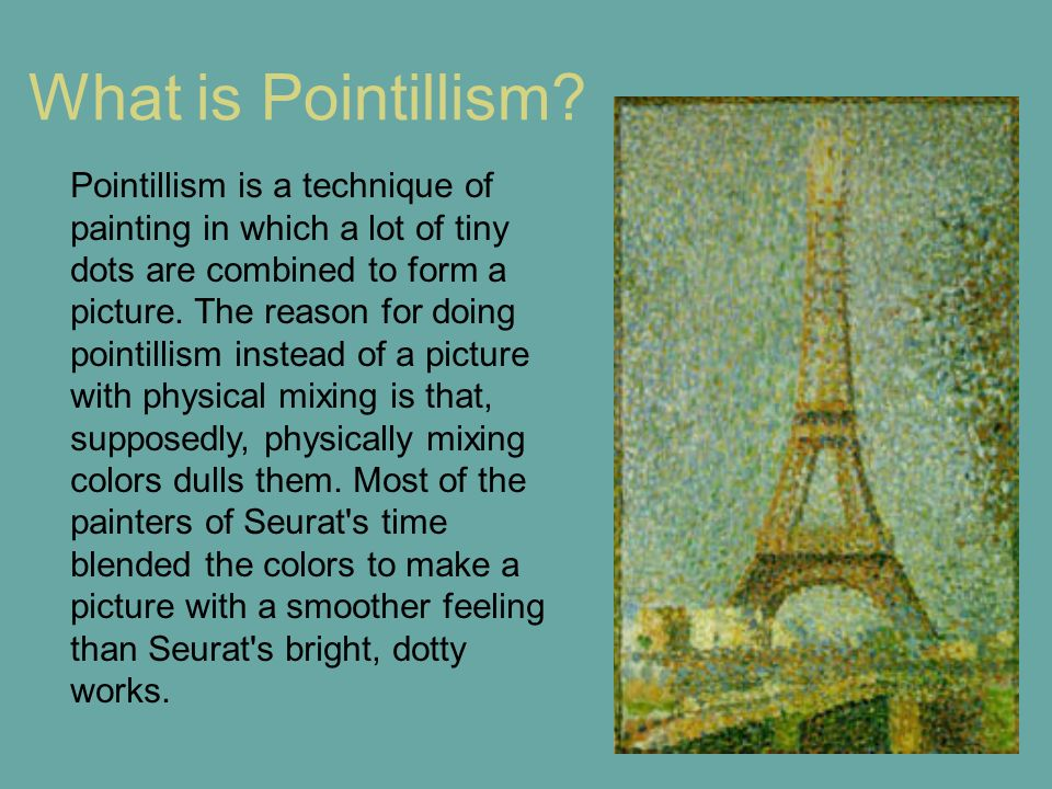 What is Pointillism