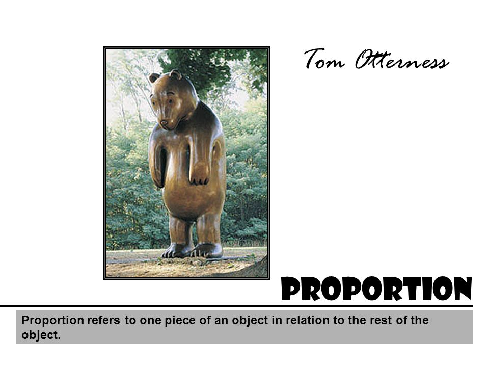 Tom Otterness Proportion