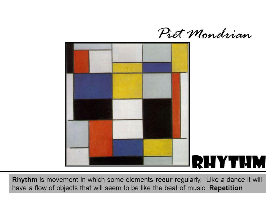 Piet Mondrian Rhythm.