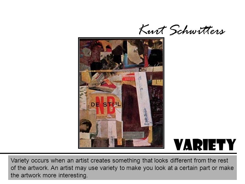 Kurt Schwitters Variety