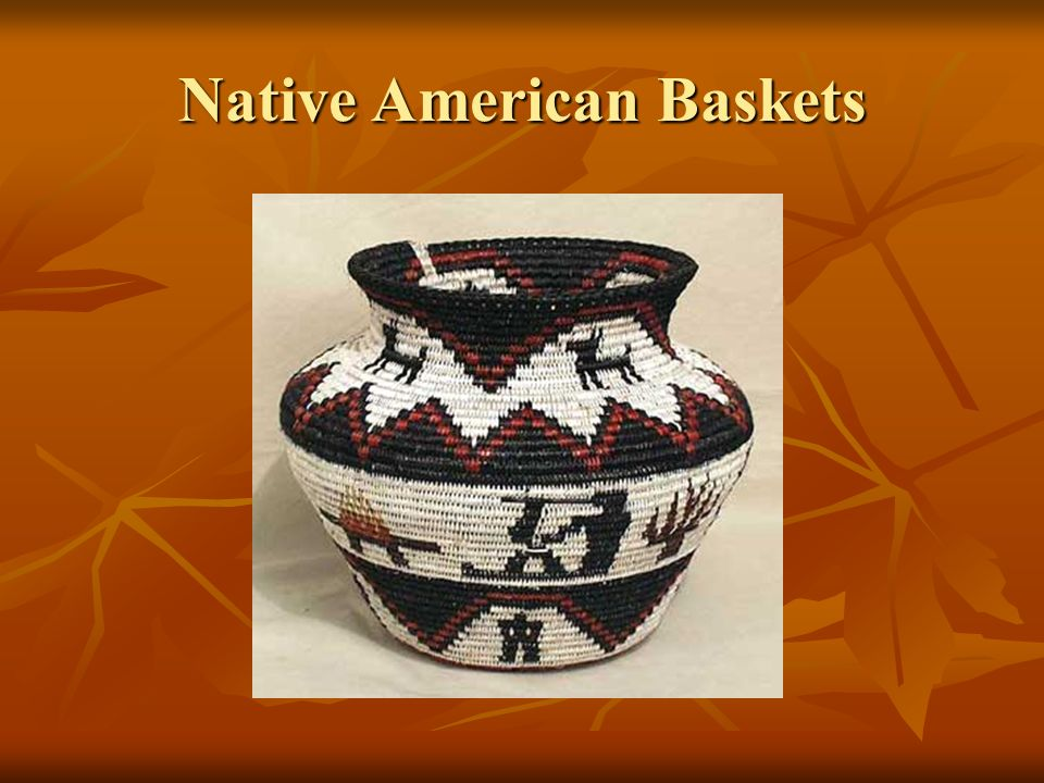 Native American Baskets