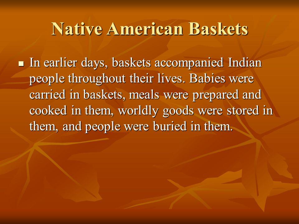 Native American Baskets