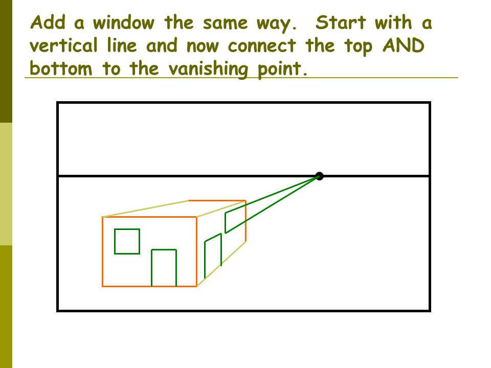 Add a window the same way