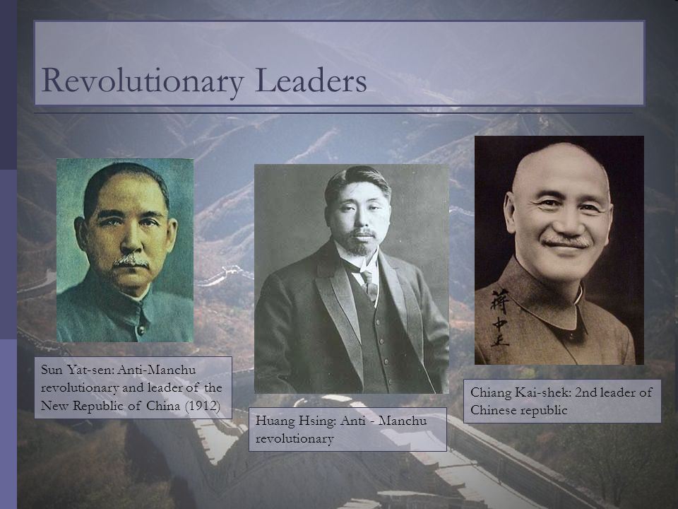 Revolutionary Leaders