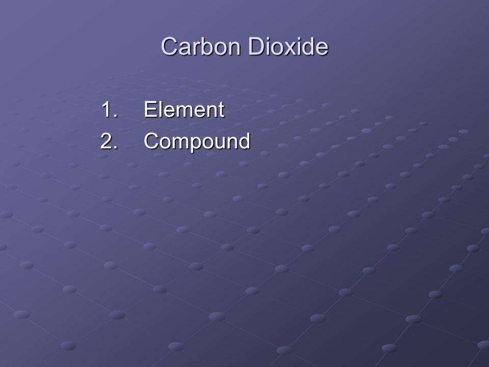 Carbon Dioxide Element Compound
