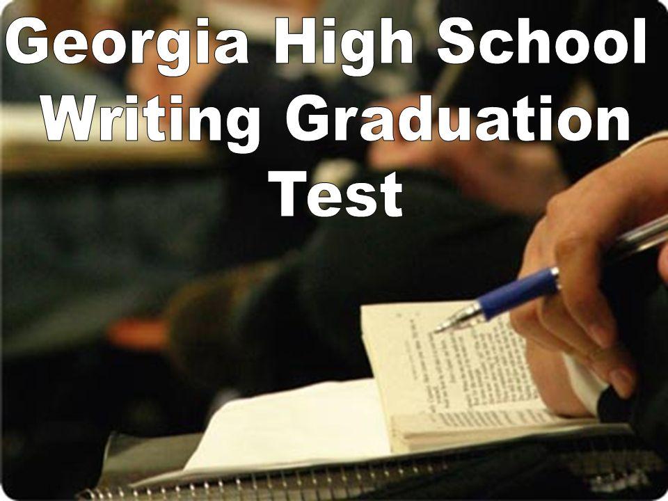 Georgia High School Writing Graduation Test